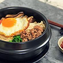 韩式石锅拌饭,听着滋滋声就流口水了