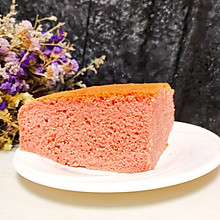 #金龙鱼精英百分百烘焙大赛tiger战队#红曲戚风蛋糕