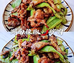 能干掉两碗米饭的湖南辣椒炒肉的做法