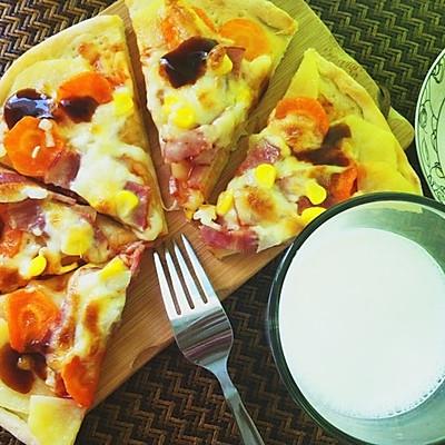 薄脆底披萨