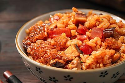 日食记 | 香菇腊肠焖饭