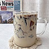 #宅家厨艺 全面来电#自制一点点咖啡冻焦糖奶茶,好喝到尖叫的做法图解13