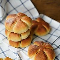芋泥小花面包