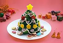 丘比果酱&沙拉酱-圣诞树沙拉的做法