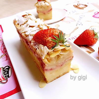 人氣蘋果杏仁隱形蛋糕Invisible cake