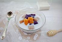 夏日清凉消暑~椰汁三色芋圆的做法