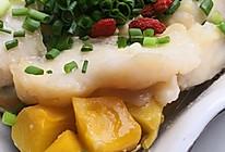 低脂又营养的南瓜蒸龙利鱼#麦子厨房#美食锅出品的做法