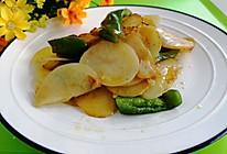 #合理膳食 营养健康进家庭#青椒土豆片的做法