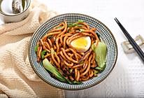 三鲜炒乌冬面——素炒本土版的做法