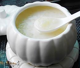 润肤美白--雪耳椰汁牛奶羹的做法