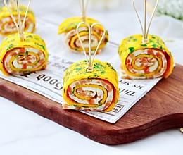 #福气年夜菜#日式火腿鸡蛋卷的做法