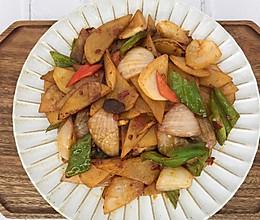 家常洋葱土豆片的做法
