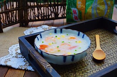 虾仁玉米粥