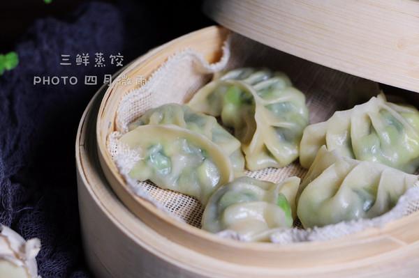 年夜饭之—-久财三鲜蒸饺的做法