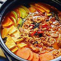 韩式火锅好吃的秘诀——泡菜肥牛锅的做法图解12