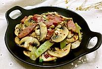 莴笋香肠炒口蘑#中粮我买,真实惠才是食力派#的做法