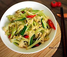下饭菜|干煸有机花菜|素菜也可以很下饭哟的做法