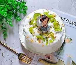 不用抹面简单又好吃,奇异果爆浆蛋糕的做法