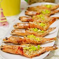 【蒜蓉迷迭香烤虾】#九阳烘焙剧场#烤箱试用#的做法图解8