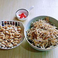 #父亲节,给老爸做道菜#银鱼干炒花生的做法图解2