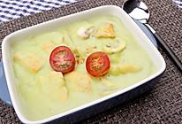 奶油青豆三文鱼的做法