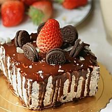 咸味草莓奥利奥奶油蛋糕