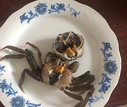 盐水腌螃蟹的做法