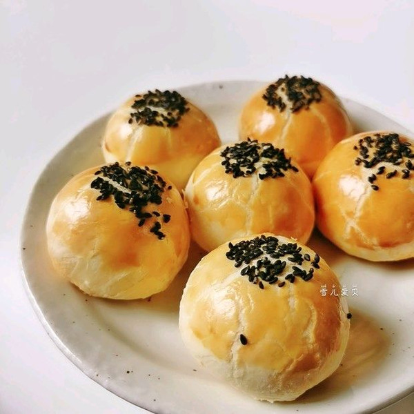 黄油版~奶香蛋黄酥