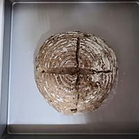 黑啤核桃乡村面包的做法图解12