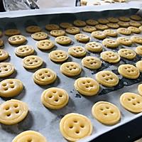 #快手又营养,我家的冬日必备菜品#纽扣小饼干的做法图解8