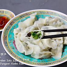 黄瓜豆腐木耳素饺子•无蛋无五辛 Vegan Jiaozi