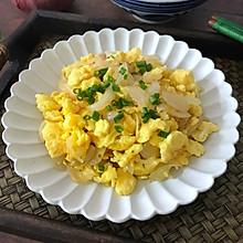 #做道懒人菜,轻松享假期#洋葱炒鸡蛋