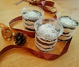 巧克力木糠杯——淡奶油好去处的做法