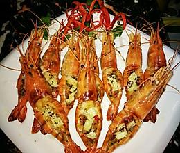 芝士罗氏沼虾的做法