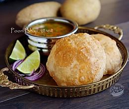 【油饼与土豆马萨拉】Poori Bhaji的做法