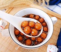 暖心红糖小汤圆#憋在家里吃什么#的做法