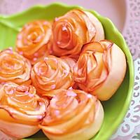 玫瑰苹果卷 可以吃的浪漫的做法图解11