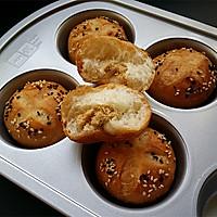 开花肉松小面包#我的烘焙不将就#的做法图解13