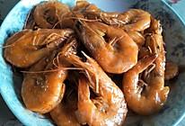 红烧大虾(家常糖醋虾)的做法