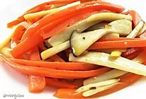胡萝卜杏鲍菇的做法