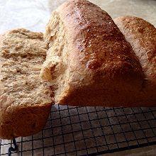 汤种全麦面包~柔软拉丝