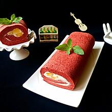 红丝绒蛋糕卷#相约MOF#