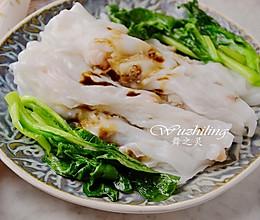 广式虾仁肠粉的做法