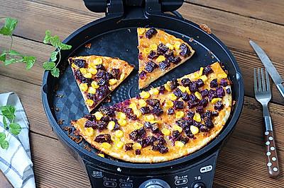 紫薯粗粮披萨