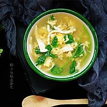 #精品菜谱挑战赛#豆腐丝鸡蛋汤