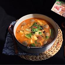 番茄鲜蔬牛肉丸子汤