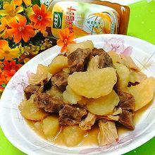 #下饭红烧菜#牛肉烧腐竹土豆