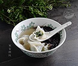 春野美味【荠菜馄饨】的做法