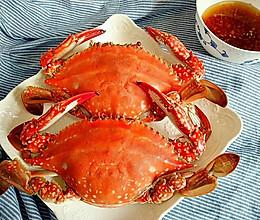 清蒸梭子蟹#宴客拿手菜#的做法