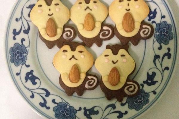 萌萌哒的松鼠饼干的做法